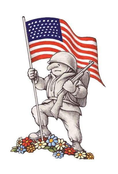 Veterans Happy Community Flag Patriotic Animated Faced