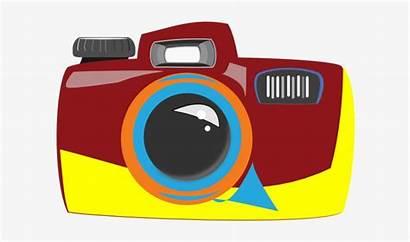 Camera Clipart Cartoon Colorful Transparent Pngkey