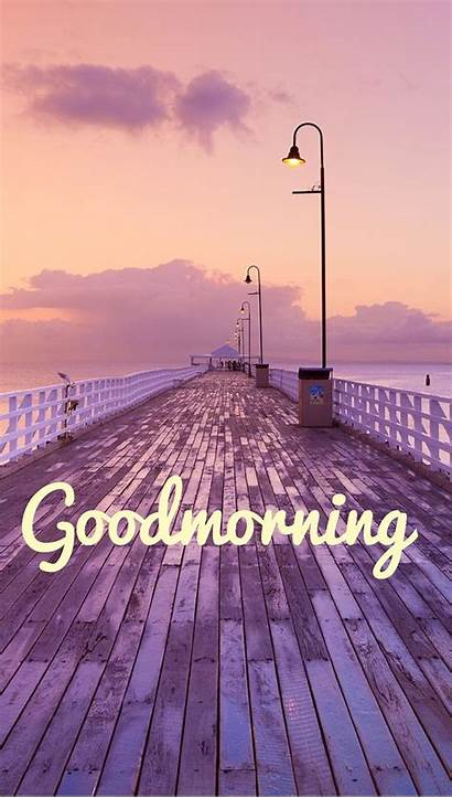 Wallpapers Aesthetic Morning Nature Purple Scenery Beach