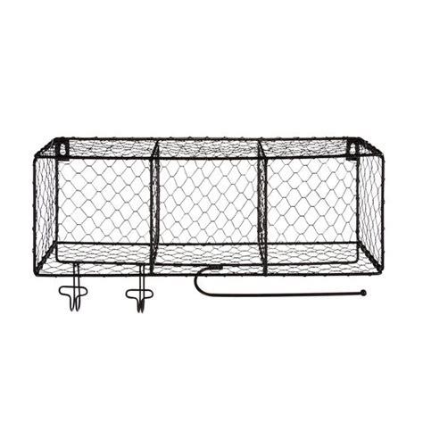 etagere deco cuisine étagère 3 cases en métal satiné noir satin pool les