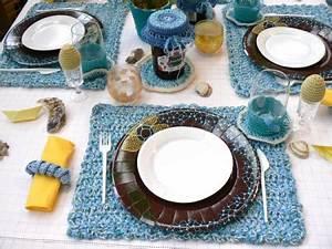 Set De Table Au Crochet : rencontre avec une passionn e de crochet en qu te de filen qu te de fil ~ Melissatoandfro.com Idées de Décoration