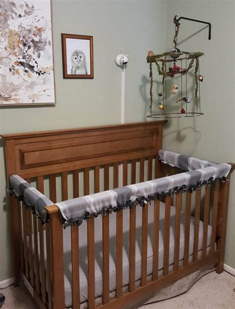 diy baby crib baby crib rail cover diy no sew with pictures