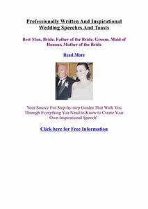 Wedding speech order father of the groom The Best Father Of