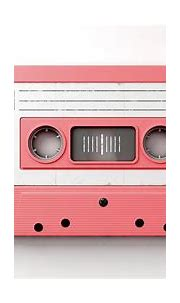 Pink Cassette Mix Tape Digital Art by Allan Swart