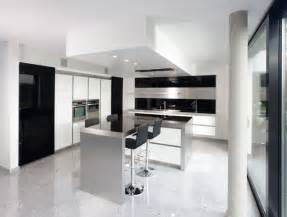 black and kitchen ideas new modern black and white kitchen designs from kitcheconcept digsdigs