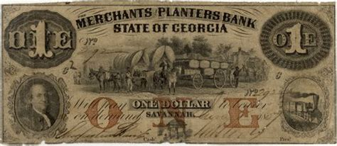 www planters bank obsolete currency merchants and planters bank