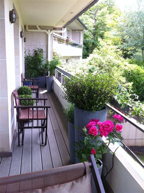 canapé de balcon décoration balcon filant