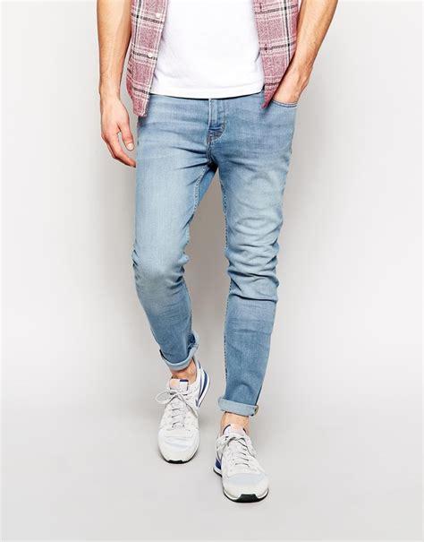 light jeans mens light denim skinny jeans men jeans to