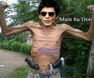 Shahrukh Khan Very Funny Picture - file.army