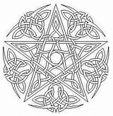 Coloring Pages Pentacle Template sketch template