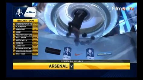 FA Cup 2014-2015. Fifth Round (Last 16) Draw - YouTube