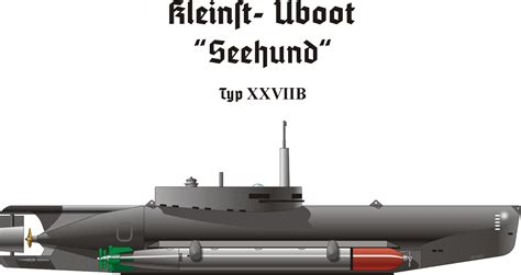U Boat Xxviib Seehund by Seehund U Boot