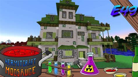 minecraft mods modsauce haunted house hermitcraft modded minecraft  youtube