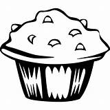 Svg Muffin Blueberry Clipart Clip Views sketch template