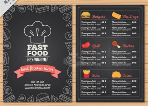 top  des modeles psd de menus de restaurants gratuits en