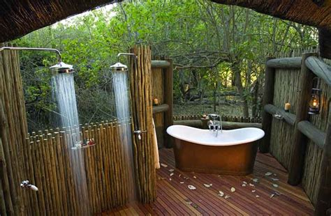 Outdoors Bathroom : Yuri's List Of Top Ten World's Best Outdoor Hotel