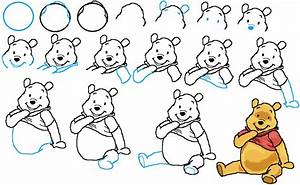 How To Draw Winnie The Pooh Drawing Animals Pinterest