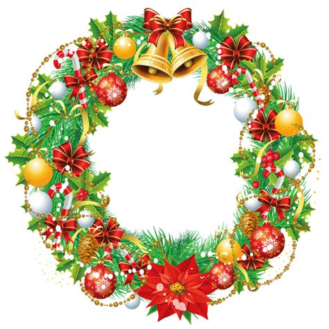 transparent christmas wreath png clipart picture gallery