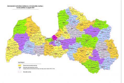 Jaunā novadu karte sazīmēta; daļa iedzīvotāju