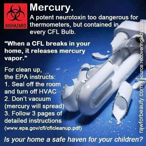 mercury dangers health