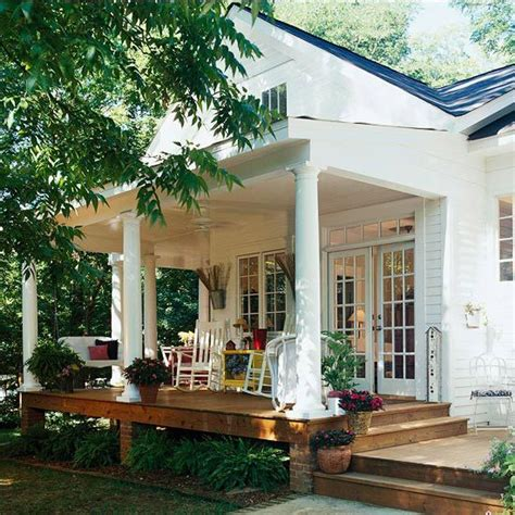simple front porch ideas porch design ideas french doors house and ceilings