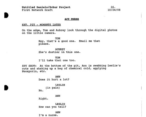 tv script template for pages how to make sure your tv script is correctly formatted for