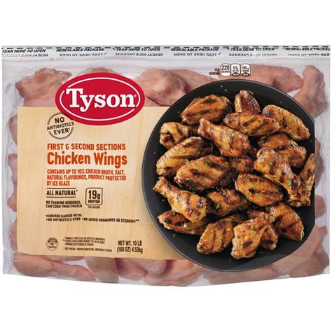 In a small bowl combine baking powder, ½ tsp salt, 2 tsp garlic powder and 1 tbsp lemon zest and stir to combine. ventura99: Costco Chicken Wings Nutritional Value