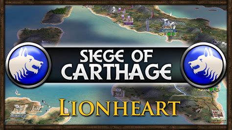 the siege of carthage siege of carthage challenge rome total war