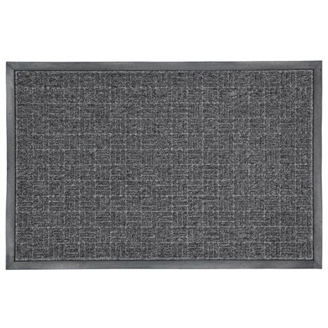 Commercial Doormats by Trafficmaster Charcoal 23 5 In X 35 5 In Rubber