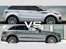2016 Range Rover Evoque vs 2016 Mercedes GLC YouTube