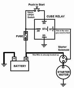 Race Car Push Button Start Wiring Diagram