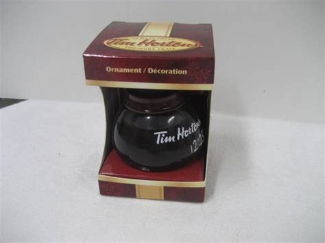 tim hortons christmas ornametns canada tim hortons 2010 ornament coffee pot to find ebay tim horton s mugs collectibles in