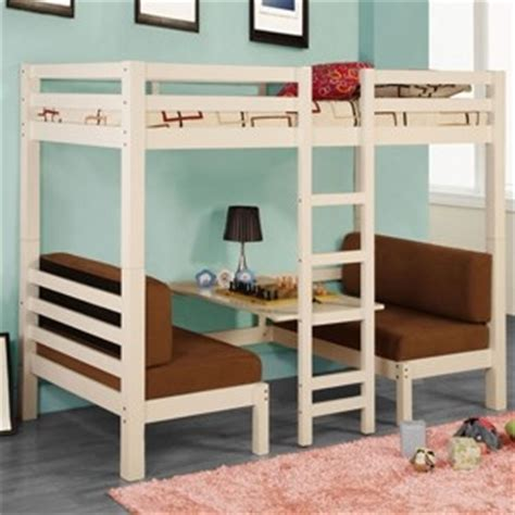 loft bed with table and benches loft bed with bench table below home bunk loft beds