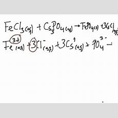 Netionic Equation Practice Problems Youtube