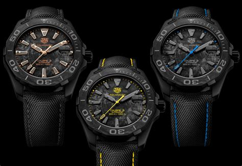 Tag Heuer Aquaracer Carbon Watches