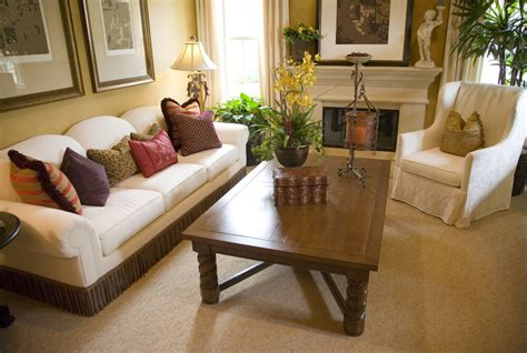 Large Coffee Table In Small Living Room