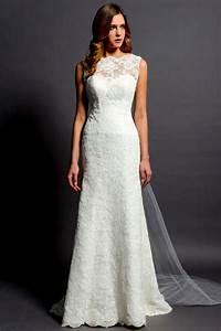 Long white lace dress kzdress for Long white wedding dresses
