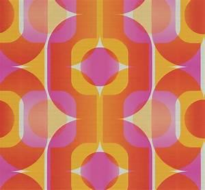 Tapete 70er Jahre : absolut echt retro tapete 70er jahre tapete as 95528 4 retro pink rot orange 3 ebay ~ Frokenaadalensverden.com Haus und Dekorationen