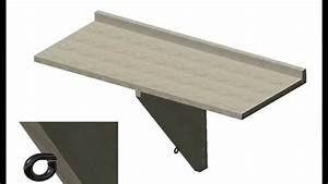 Table De Balcon : table de balcon youtube ~ Teatrodelosmanantiales.com Idées de Décoration