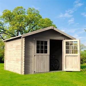 Abri De Bois : abri de jardin en bois 9 99 m ep 28 mm flover 1 palette ~ Melissatoandfro.com Idées de Décoration