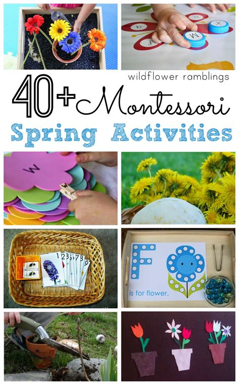 montessori activities wildflower ramblings 972 | SPRING 001