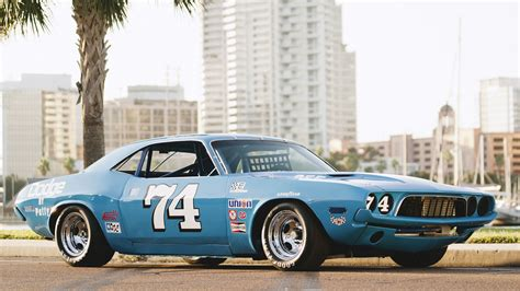 Race Dodge Challenger by 1973 Dodge Challenger Race Car T156 Kissimmee 2016