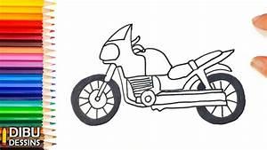Image De Moto : comment dessiner une moto dessin de moto youtube ~ Medecine-chirurgie-esthetiques.com Avis de Voitures