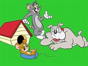 Tom Jerry And Spike Cartoon Desktop Hd Wallpaper 1920x1200 ...  Cartoon