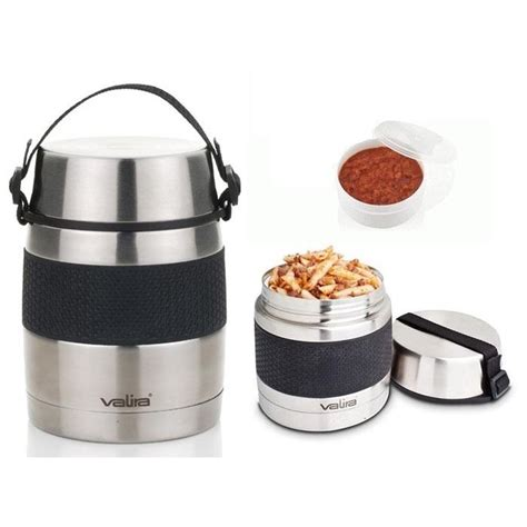 ustensiles de cuisine en r boite repas lunch box contenant alimentaire isotherme inox 1 l la casserolerie