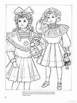 Coloring Children Fashions Pages Books Clothes Altered sketch template