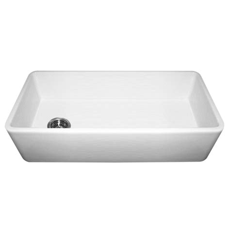 Whitehaus Wh3618 Duet 36 Inch Reversible Fireclay Sink W