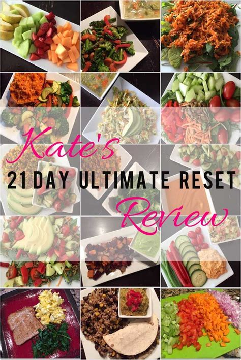 Kate's Ultimate Reset Review Detox Cleans No work out