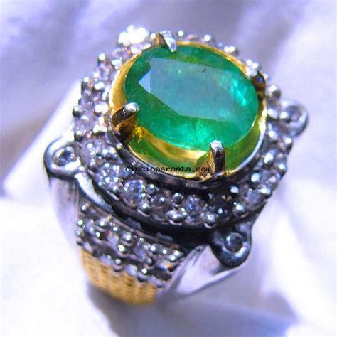 cincin batu permata zamrud cincinpermata jual batu permata batu mulia asli berkualitas