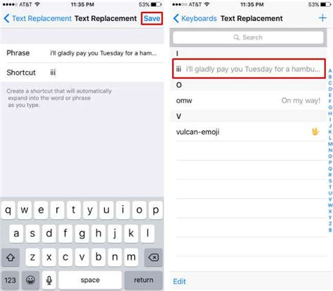 shortcuts on iphone how to create text shortcuts on iphone the iphone faq
